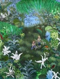 i djungeln
