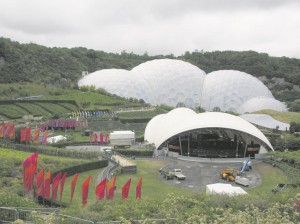 The Eden Project is one of Cornwall's more popular attractions.