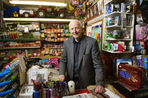 Jimmy Whelan, of Whelan's shop in Killaloe, is celebrating 50 years in the retail business.
