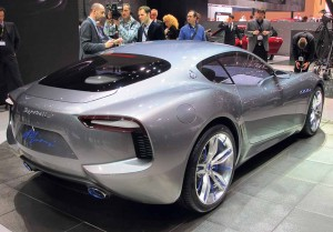 Maserati's gorgeous Alfieri Coupé was my star of the show.