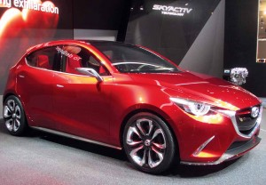 The Hazumi concept could form the basis of the next Mazda2.