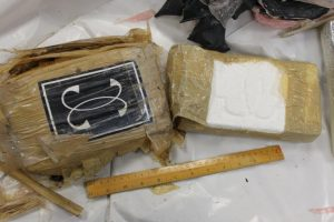 Part of the cocaine seizure in Liscannor. Photograaph by Revenue Customs