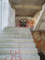 Graffiti, sniper's nest, Mostar