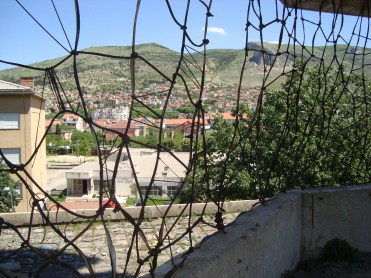 View from sniper's nest, Mostar