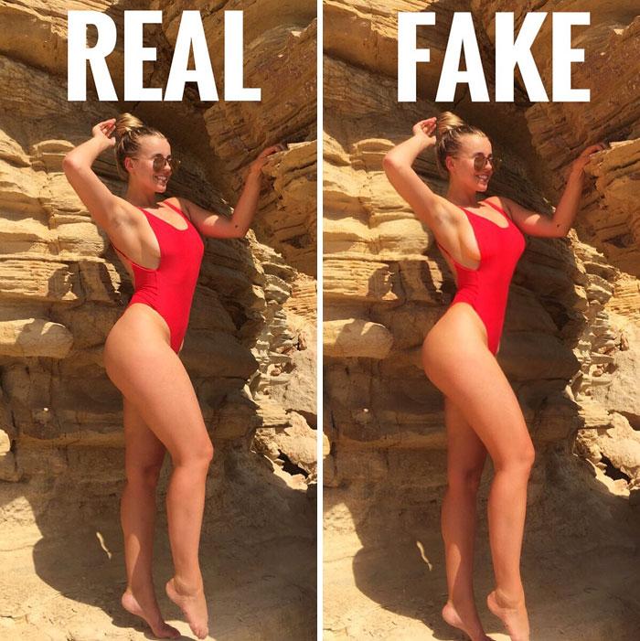 Instagram Vs Reality Chessie King Edition