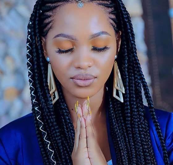 Cute Braided Hairstyles For Black Woman Clarek