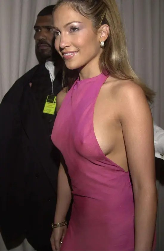 Jennifer Lopez Braless