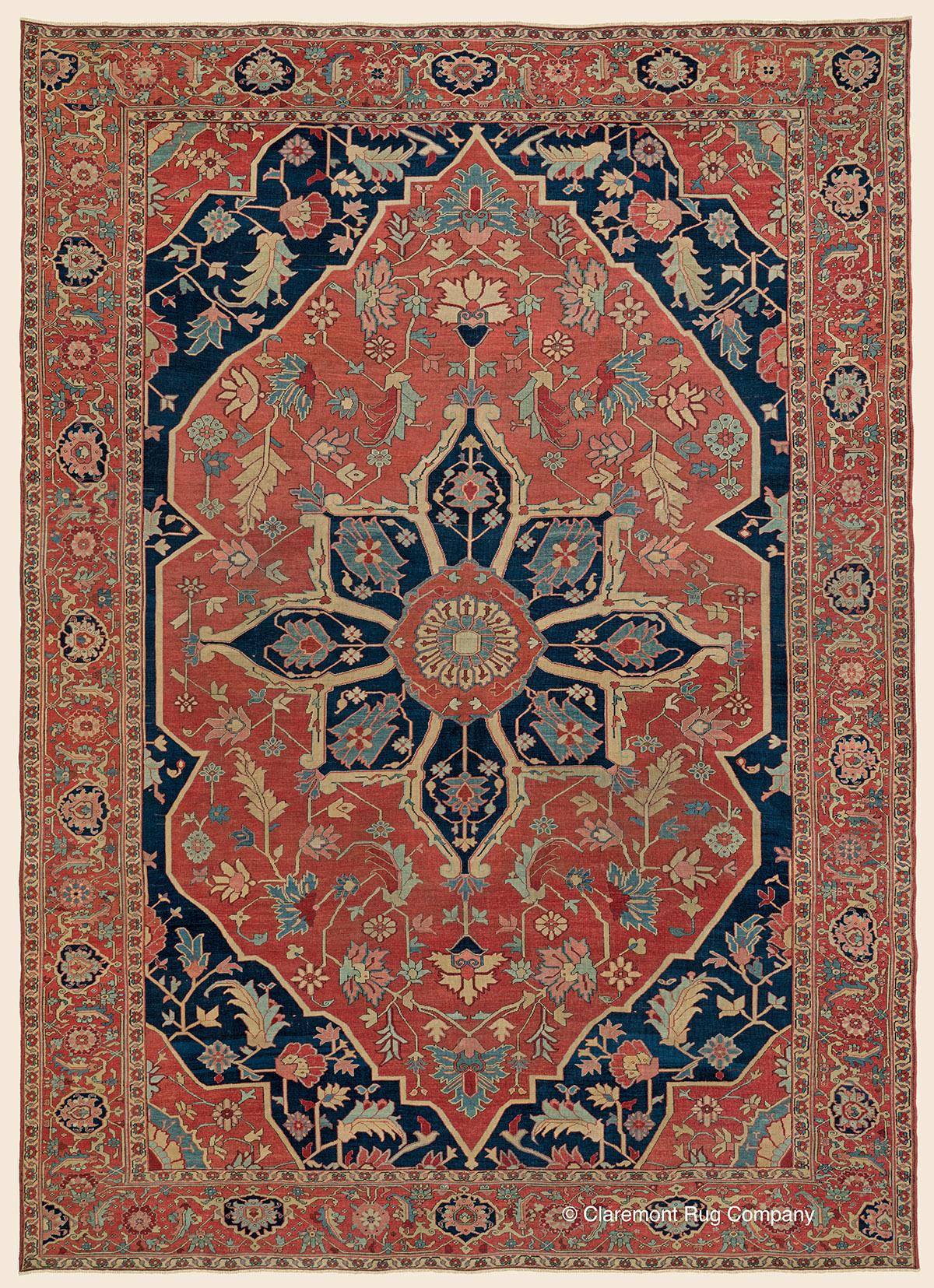 Serapi Northwest Persian Antique Rug Claremont Rug Company