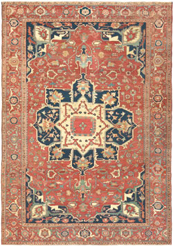 Serapi Antique Oriental Rug - Claremont Rug Company
