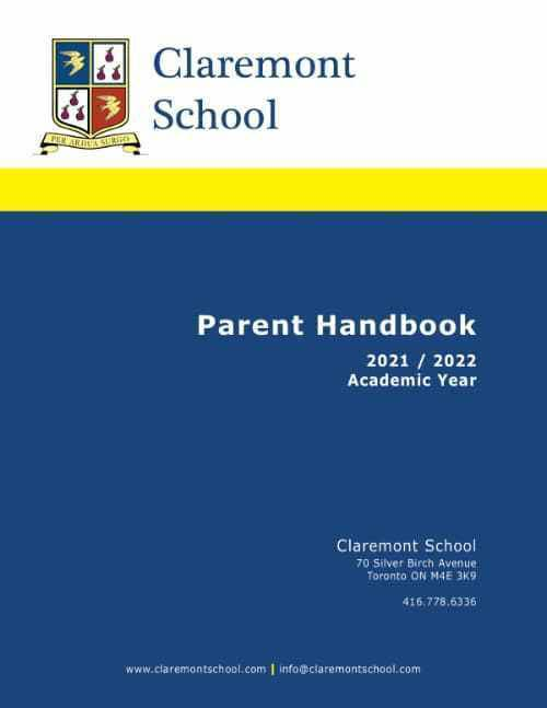 Claremont Handbook 2021/2022