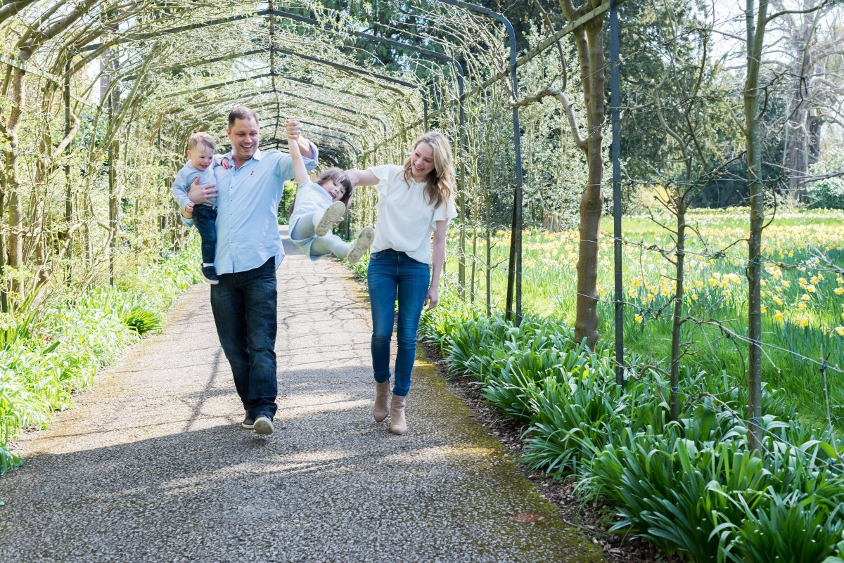 Surrey Family Photography at Hampton Court