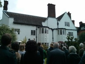 Richard Gill's Clarendon Park architecture walk