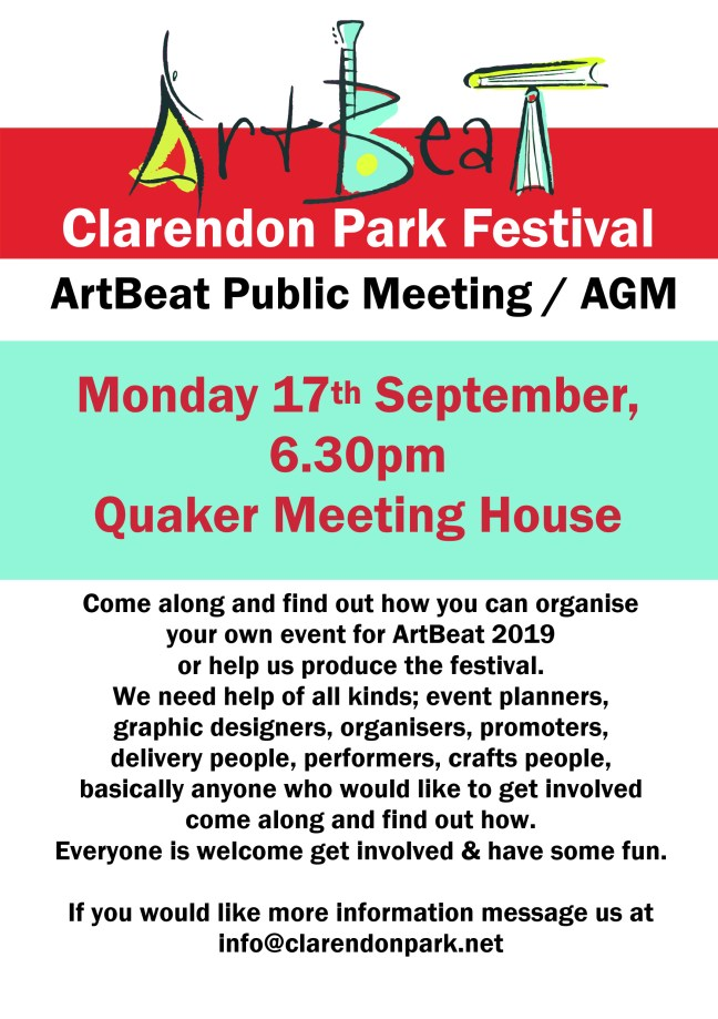 Artbeat meeting september
