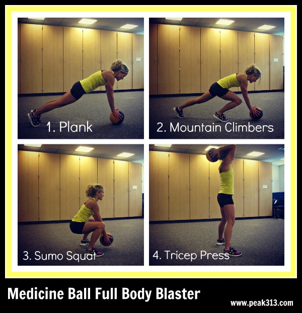 New Move Monday: Medicine Ball Full Body Blaster