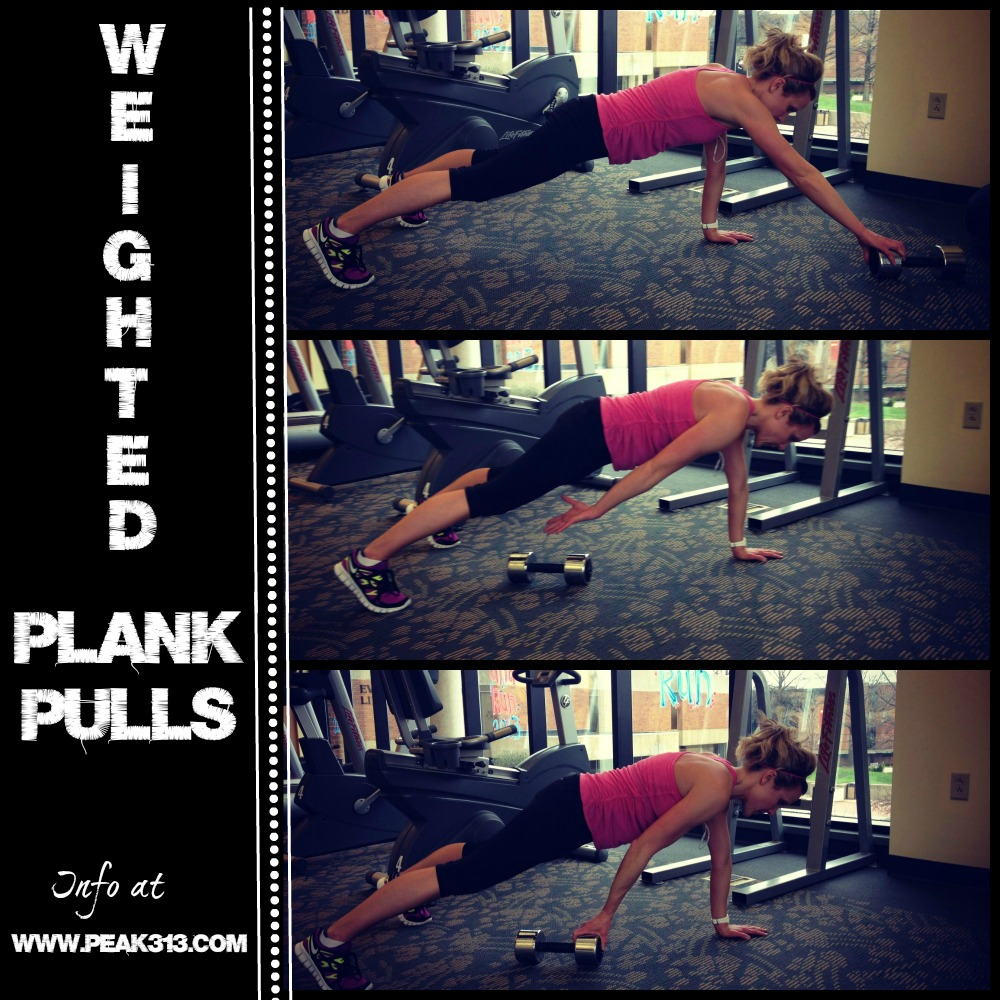 New Move Monday: Weighted Plank Pulls