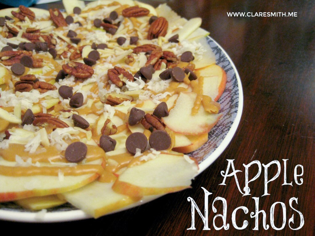 Recipe: Apple Nachos