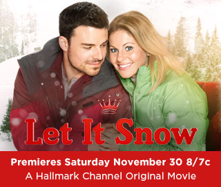 "Hallmark's Premiere of ""Let It Snow"" with Candace Cameron Bure!"