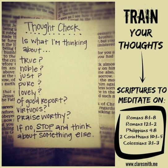 Train Your Thoughts: www.claresmith.me