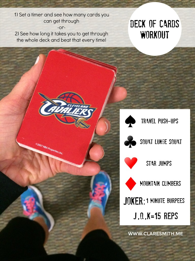 """Deck of Cards"" Workout"