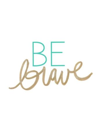It's time to do the brave thing : www.claresmith.me