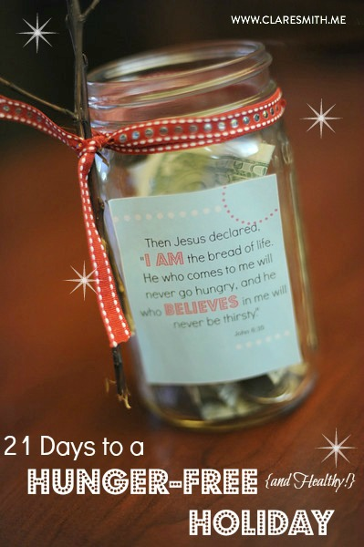 21 Days to a Hunger-Free & Healthy Holiday: Free Download