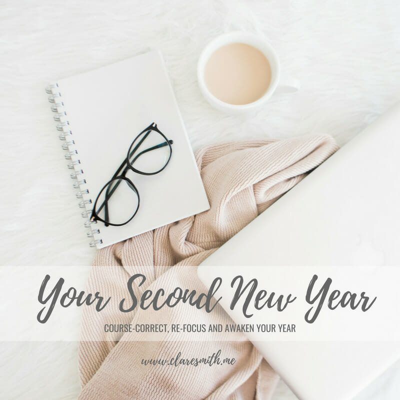 "Introduction of a NEW Series! ""Your Second New Year: Course-Correct, Re-Focus, and Awaken Your Year"""