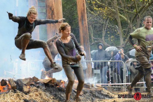 Candace and Clare- Spartan Race : peak313.com