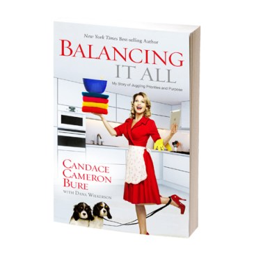 "The Key to ""Balancing It All"": What we learned this week from Candace Cameron Bure : peak313.com"