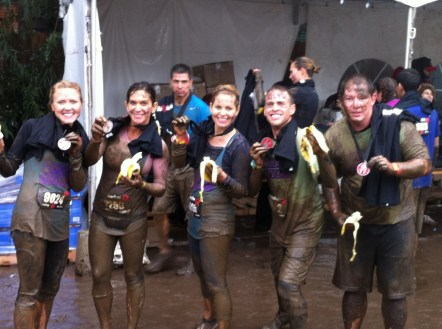 Candace Cameron Bure Spartan Race: Finish