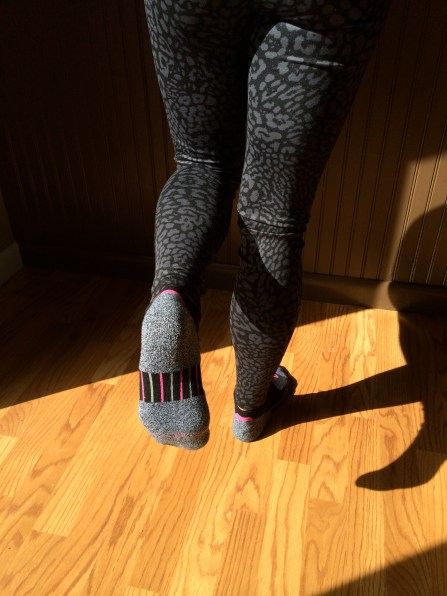 Premium Running Socks and Leopard Print Running Tights: peak313.com