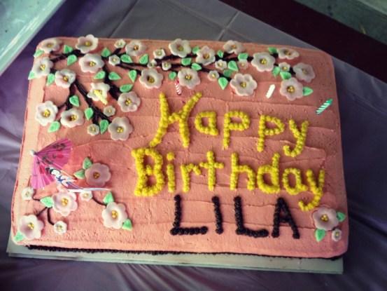 "A ""Mulan"" Inspired Party Cake | peak313.com"