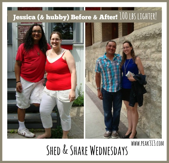 Shed & Share Wednesdays: See how Jessica S lost over 100 lbs! : peak313.com