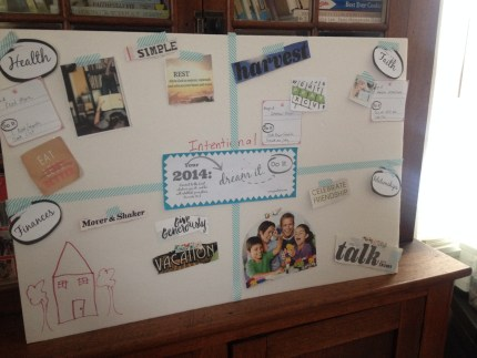 "2014 ""Dream It. Do It"" Vision Board: peak313.com"