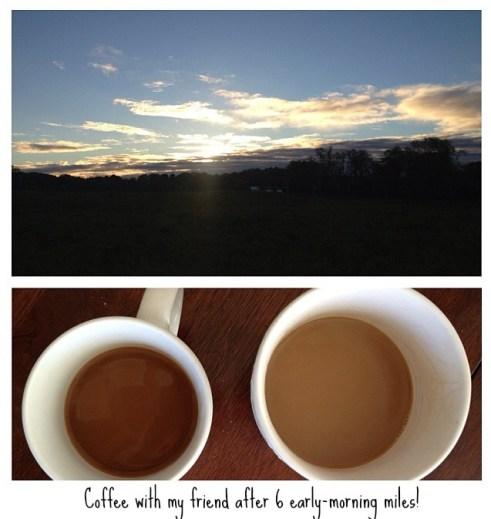 Early Morning Long Runs (and coffee!) : peak313.com