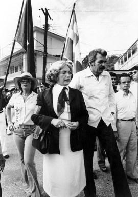 Llegada a Lares 1979