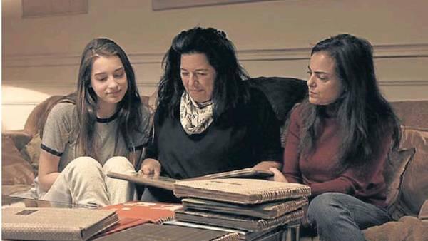 Tres generaciones de pianistas. Natasha, la abuela Lyl y Karin