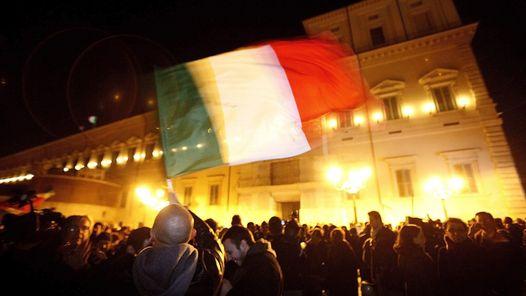 Las celebraciones en Italia (EFE).