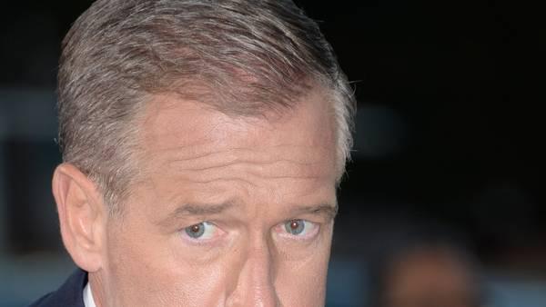 Brian Williams, presentador estrella del noticiero de la NBC. (AFP)