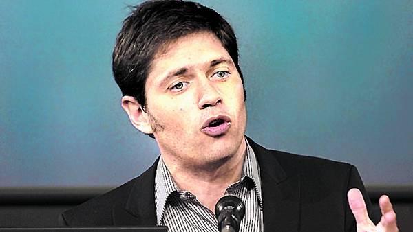 Ministro. Axel Kicillof seguirá pidiendo asistencia del Banco Central/AFP
