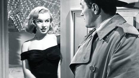MIENTRAS LA CIUDAD DUERME. Un clásico de John Huston, de 1950, con Marilyn Monroe en un papel menor.