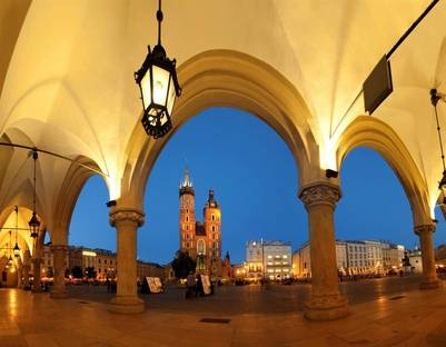 Europa en primavera. Cracovia, Polonia (Getty Images)