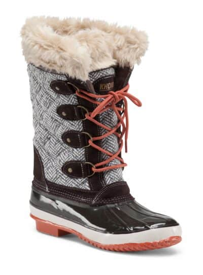 Can You Buy Fashionable Snow Boots On A Budget?