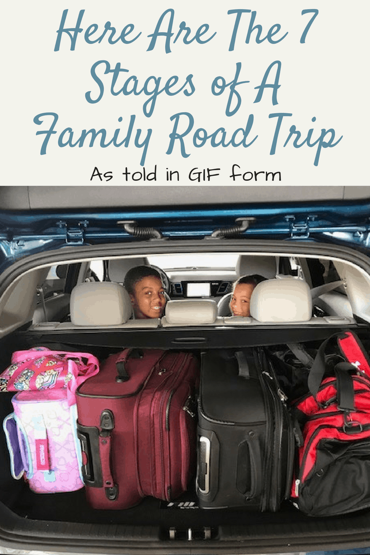 Here Are The 7 Stages of A Family Road Trip