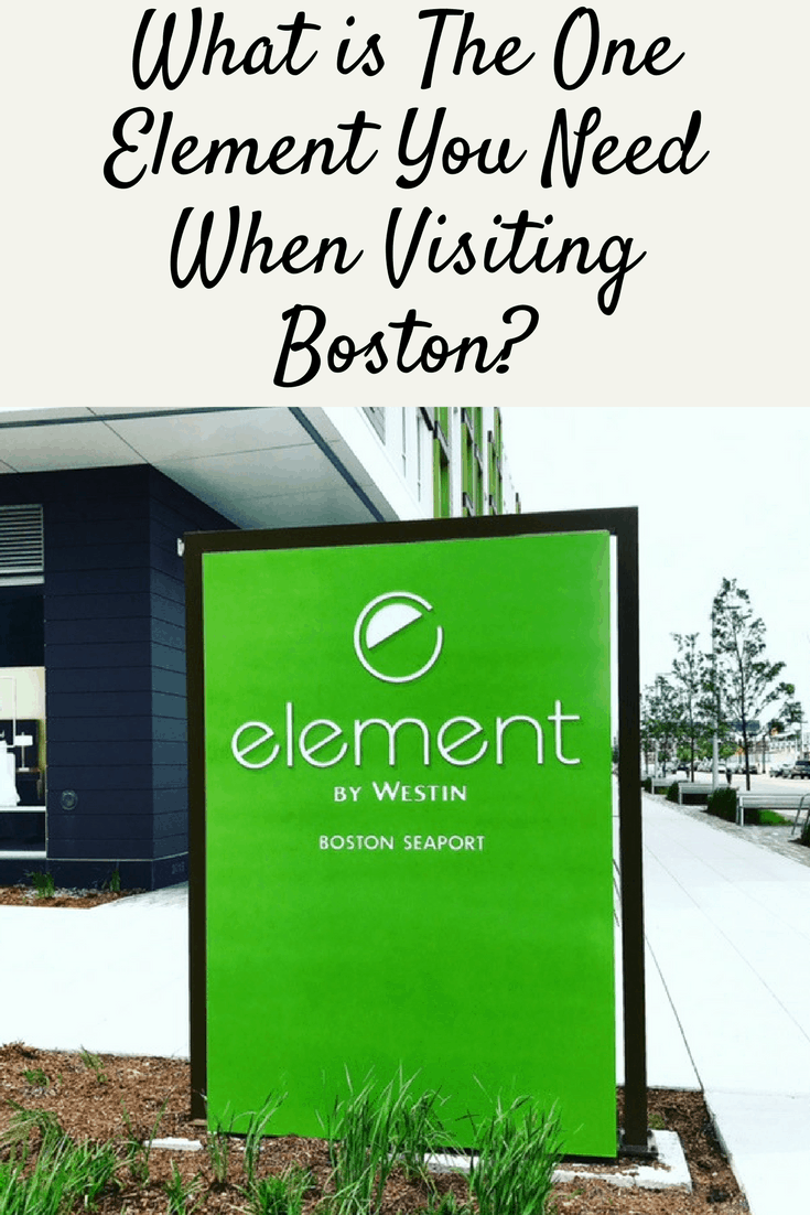 What is The One Element You Need When Visiting Boston?