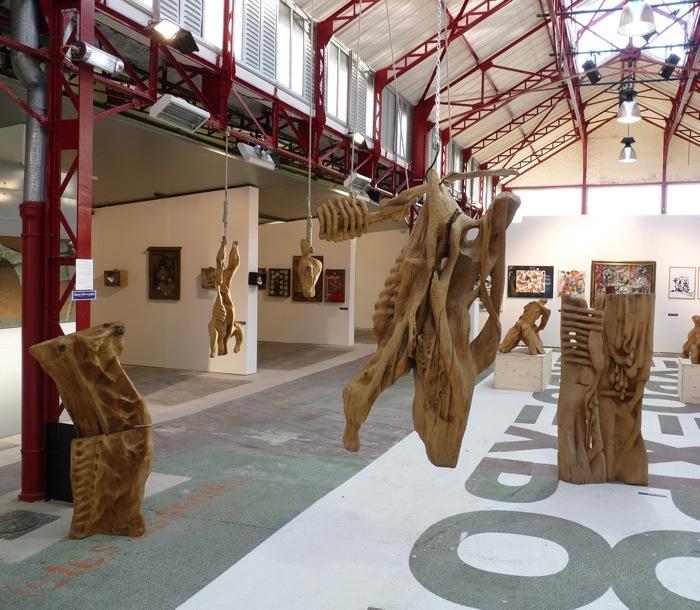 Les Carcasses exposition Halle Roublot