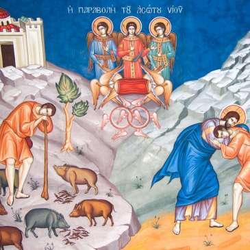 Lettura dell'icona del Figlio Prodigo