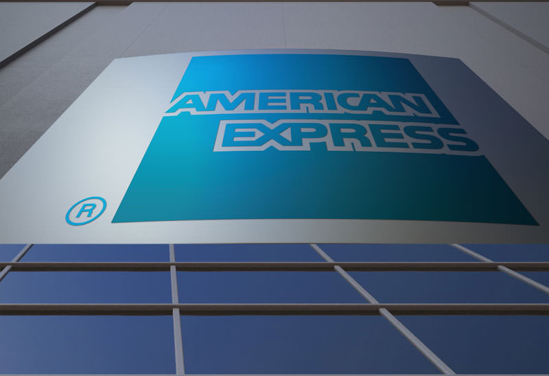 signage board american express