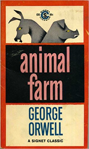 Books to read in English - Animal Farm by George Orwell
