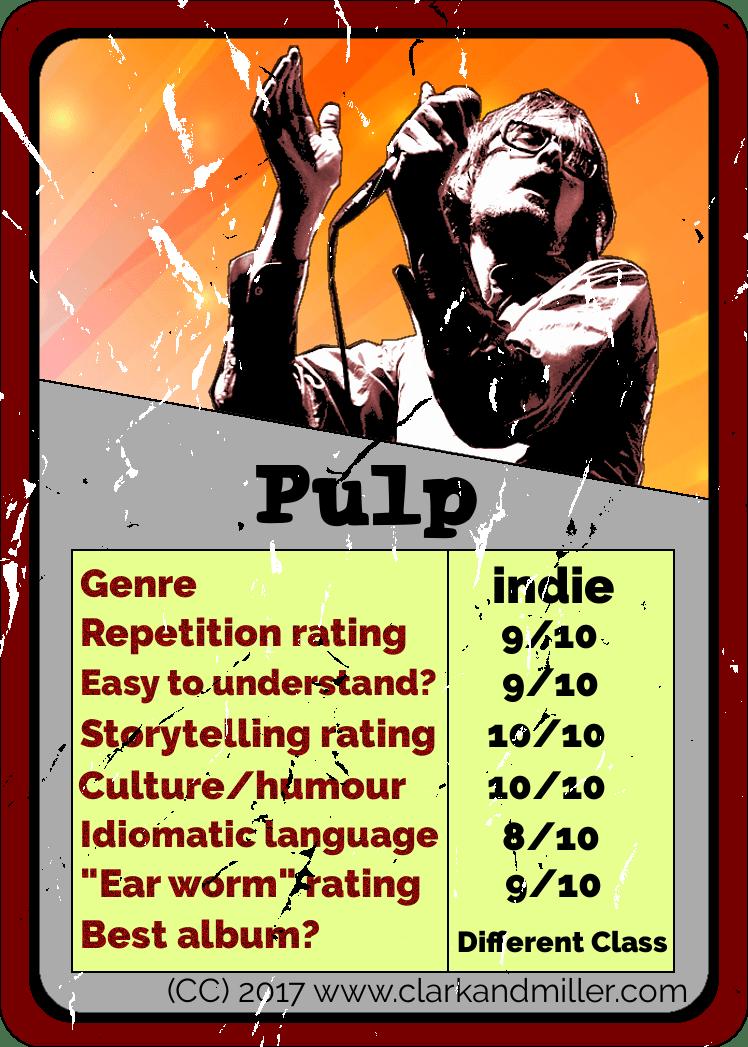 Pulp Top Trumps Card