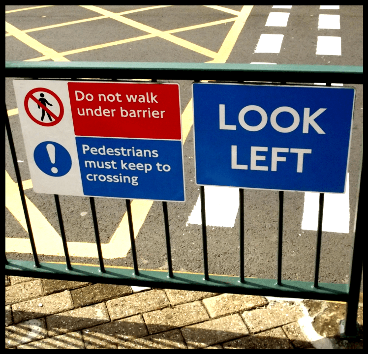 Signs in the UK